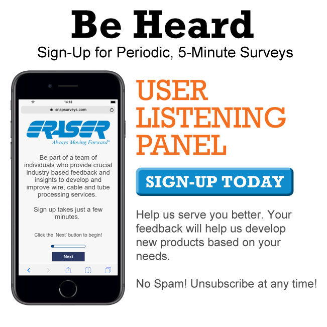 Eraser User Listening Panel