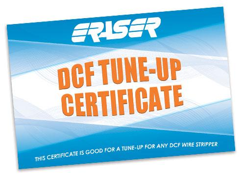 DCF TUNE-UP DCF T